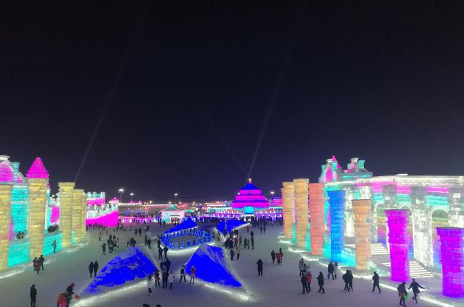 Private Full Day Transfer Service to Harbin Top Winter Attractions