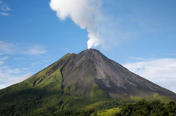 Day Trip from San Jose to Arenal Volcano & Baldi Hot Springs