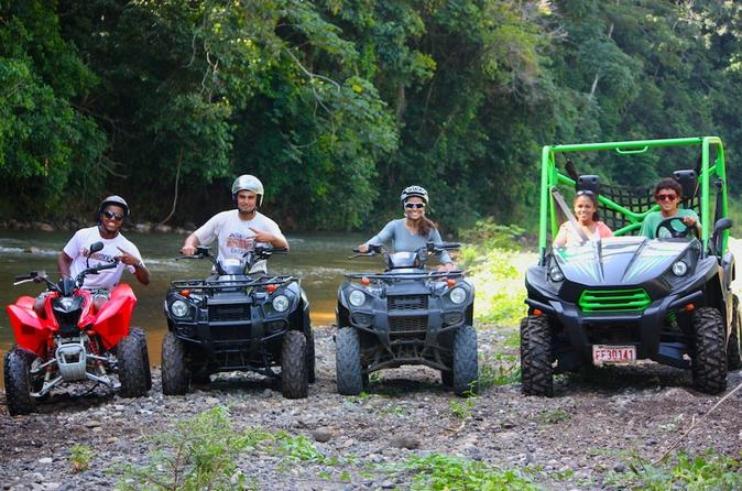 Jaco Beach & ATV Adventure one day tour from San Jose