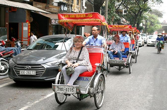 Highlight- Hanoi city tour and Cycle around old quarter