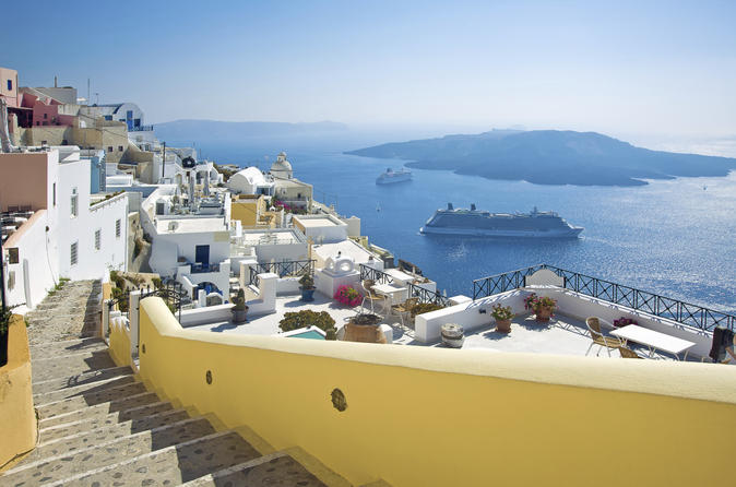 3 day independent island hopping from crete including santorini and in heraklion 173417