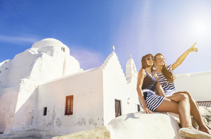 5-Day Independent Island Hopping from Crete Including Santorini and Mykonos