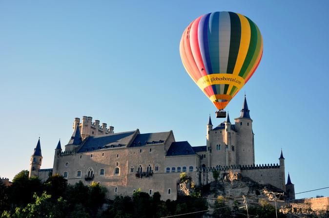 Balloon rides in segovia in segovia 267434