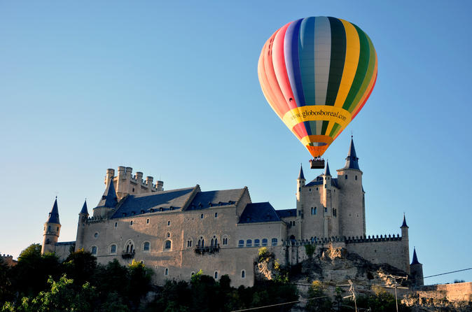 Sunrise Hot Air Balloon Ride Over Segovia or Toledo