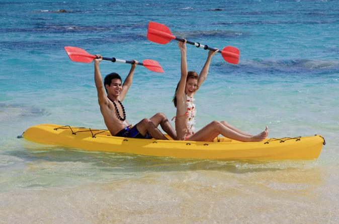 Kayaking paddleboarding and power snorkeling adventure from la romana in la romana 157505