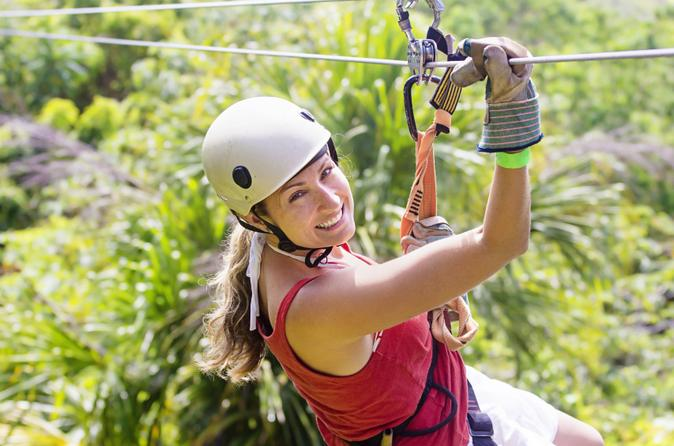 Zipline tour in rancho cumayasa from la romana in la romana 158221