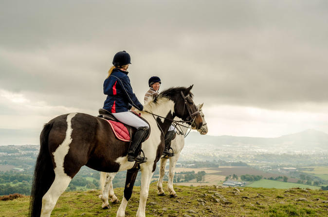 Wicklow Day Trip With Horse Riding Including Glendalough Tour From Dublin