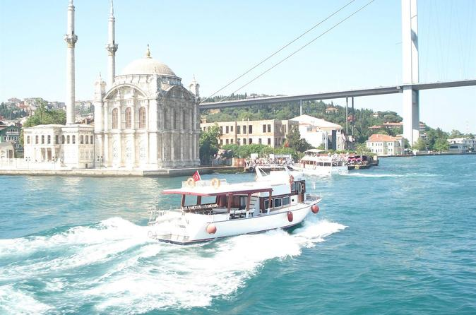 Bosphorus Cruise With Dolmabahçe Palace and Fortresses