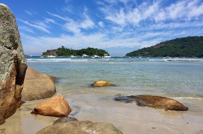 Excursão de prancha para praias isoladas da Ilha Grande