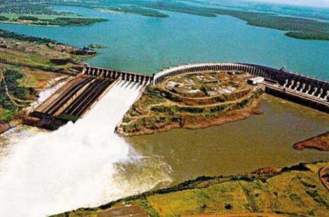 Excursão turística de meio dia à Hidrelétrica de Itaipu de Foz do Iguaçu