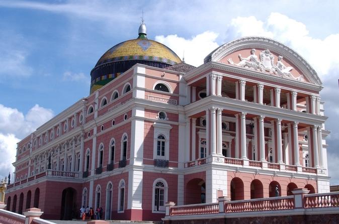Excursão turística pela cidade de Manaus