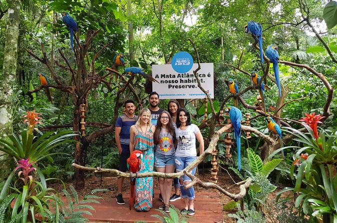 Ingresso e excursão para o Parque das Aves