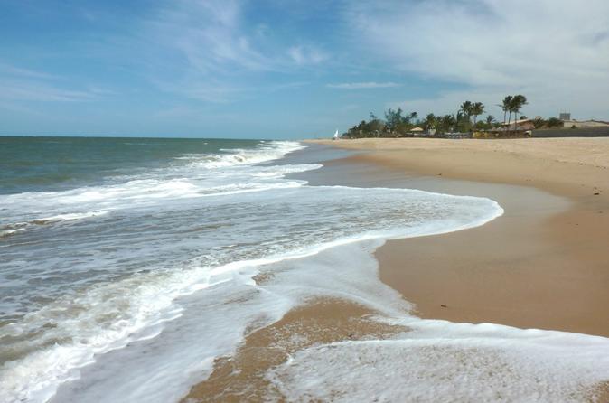 Praia de Cumbuco saindo de Fortaleza
