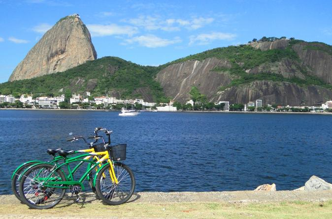 Rio de Janeiro Bike Tour: Flamengo Park, Sugarloaf and Copacabana Beach