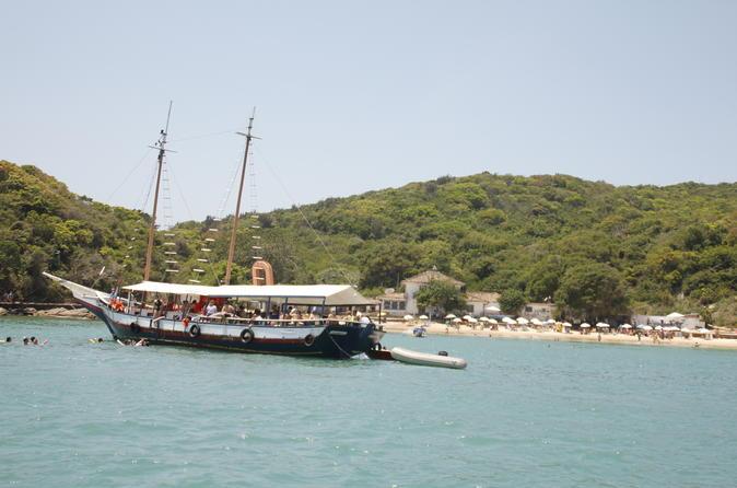 Schooner Trip around Búzios Peninsula