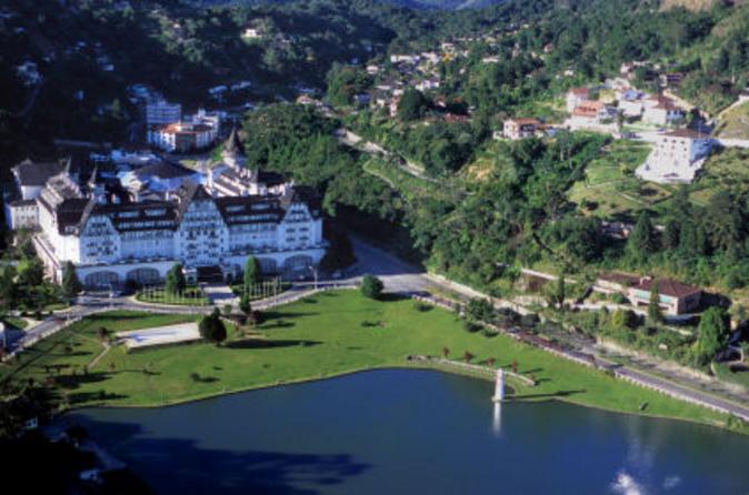 Viagem de um dia a Petrópolis saindo do Rio de Janeiro incluindo o Museu Imperial e o Palácio de Cristal
