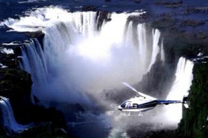 Voo panorâmico de helicóptero pelas Cataratas do Iguaçu