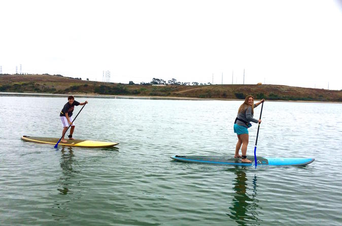 Stand-Up Paddleboard Adventure Lesson in Carlsbad