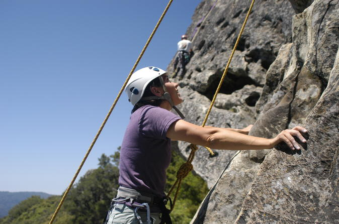 Beginner Outdoor Rock Climbing