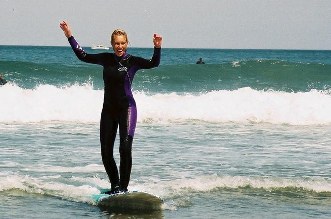 Beginner surfing 1 day santa cruz in santa cruz 294323