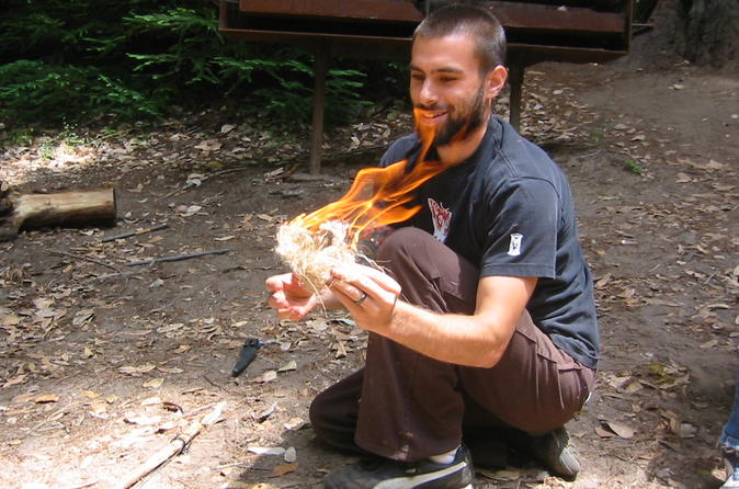 Introduction to wilderness survival clinic santa cruz in santa cruz 296663