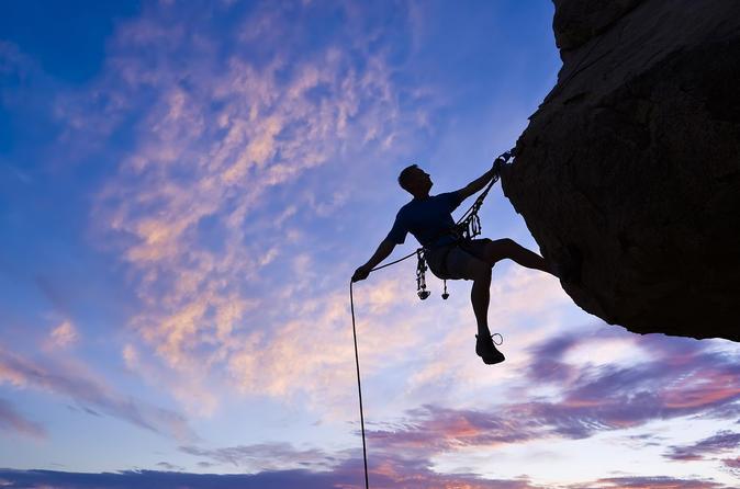 Outdoor rock climbing level 2 in los gatos 296668