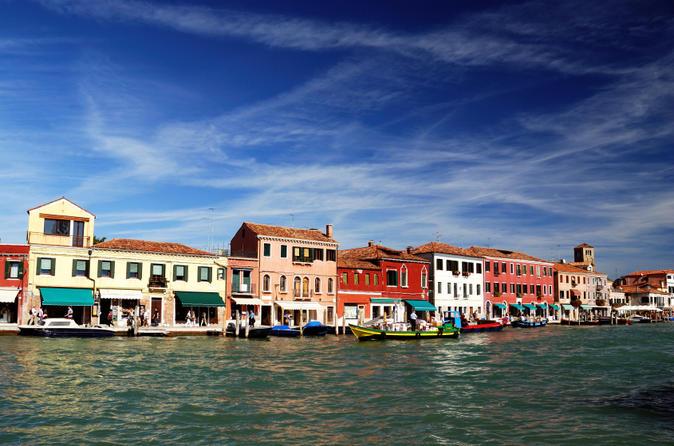Excursão turística de meio dia de Murano, Burano e Torcello