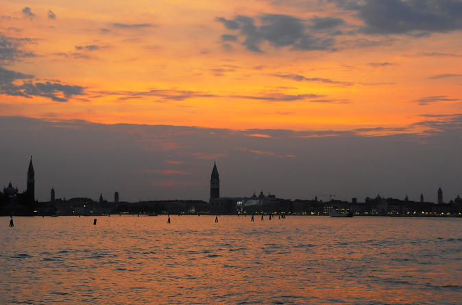 Venice Islands Sunset Cruise with Prosecco
