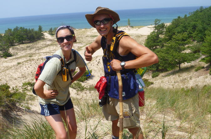 Overnight on the Sleeping Bear Dunes