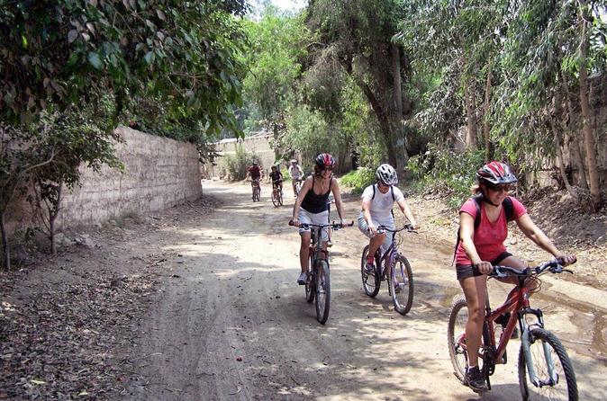 Full-Day Pachacamac Valley Mountain Biking Tour from Lima