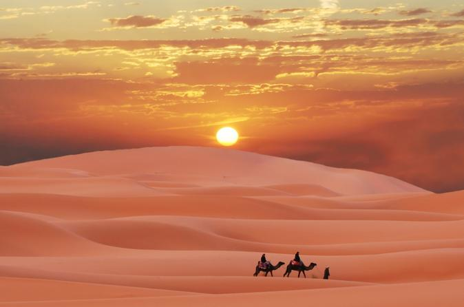 4-Day Private Tour from Marrakech to Merzouga Desert