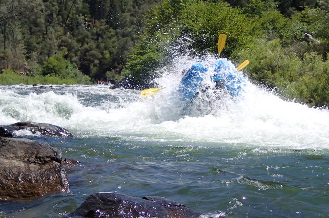 Whitewater rafting 1 day trip south fork american river gorge run in sacramento 272205
