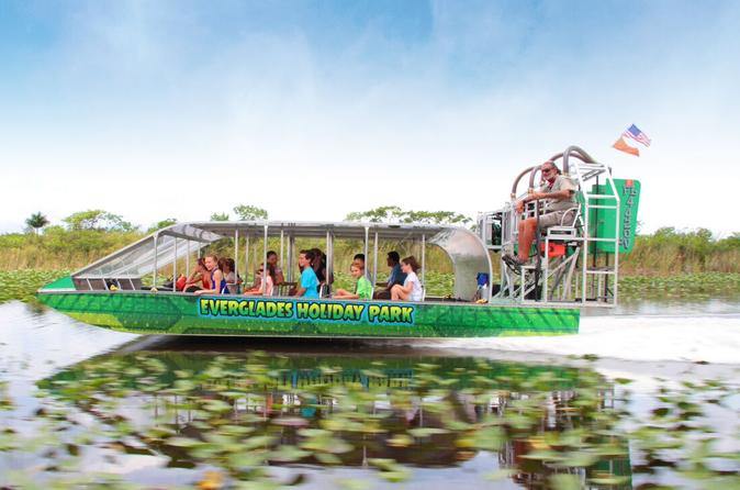 Everglades Airboat Tour And Alligator Show 2 Reviews Miami Beach