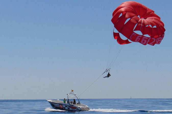 Javea Parasailing Experience And Seaside Meal - Alicante
