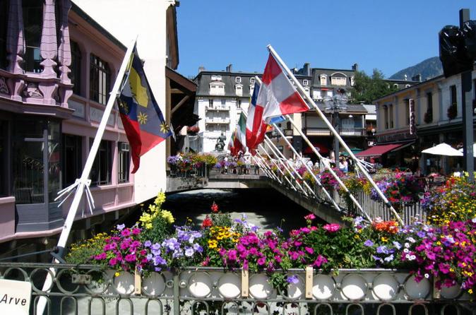 Chamonix viagem diurna e City tour de Genebra
