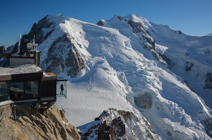 Excursão privada: Mont Blanc e Chamonix Viagem diurna saindo de Genebra incluindo almoço gourmet Michelin Star