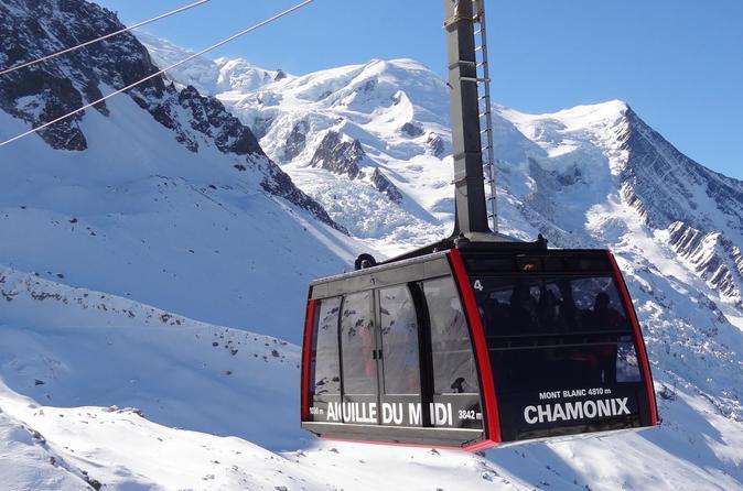 Viagem de meio dia para Mont Blanc e Chamonix