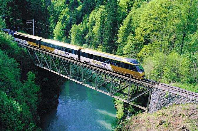 Viagem de um dia para Gruyères, incluindo o Golden Panoramic Express Train