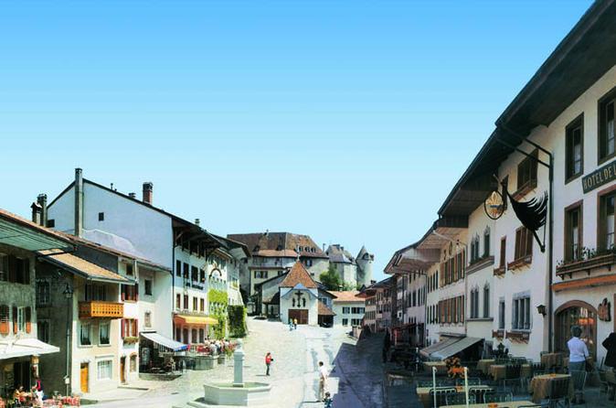 Viagem diurna para Gruyère saindo de Chamonix