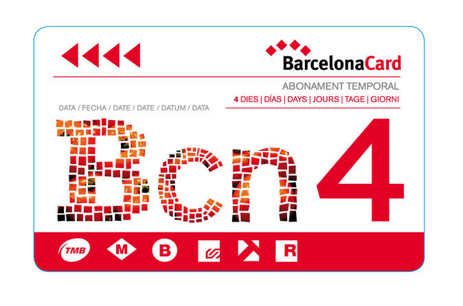 Barcelona card with guidebook in barcelona 114907