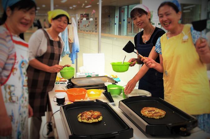 Experience Tokyo through Walking and Okonomiyaki