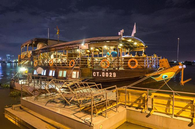 Lady Hau Saigon River Dinner Cruise with Round-Trip Transfer