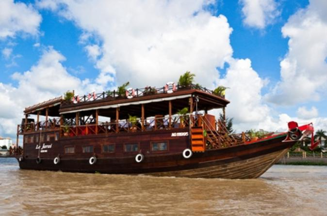 Mekong Delta Cruise Including Village Tour and Tuk Tuk Ride