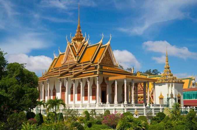 Private Tour: Phnom Penh City Tour including the Silver Pagoda
