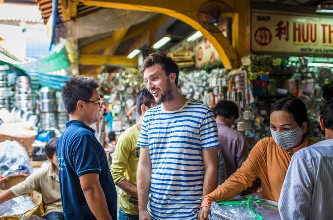 Ho Chi Minh City Saigon Street Eats Evening Tour in Vietnam Asia