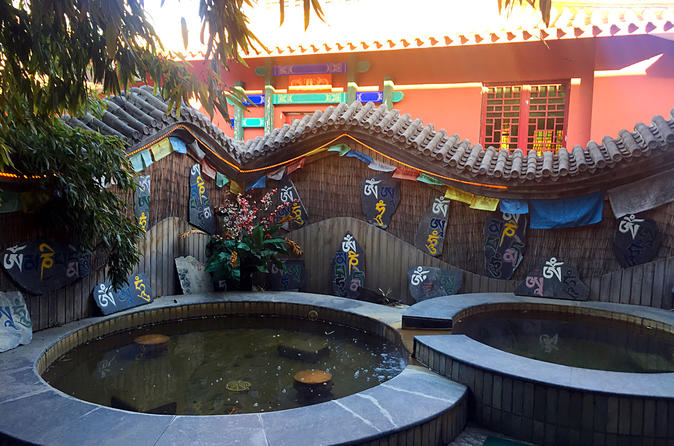 Beijing Hot Spring Spa Experience with Great Wall or Forbidden City Option