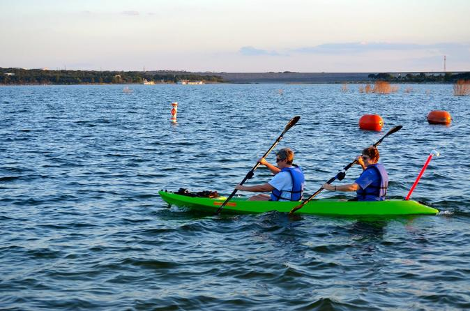 Kayak Rental on Lake Travis in Austin
