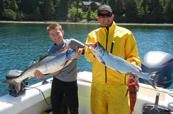 Private Salmon Fishing Charter from Vancouver for up to 4 people