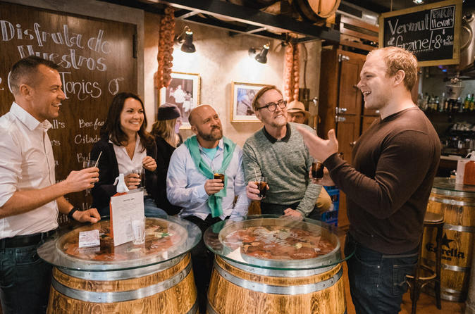 Barcelona Tapas And Wine Tasting Evening Tour