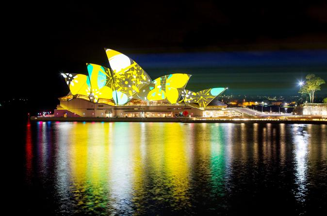 Sydney VIVID Sydney Buffet Dinner Cruise Australia, Pacific Ocean and Australia